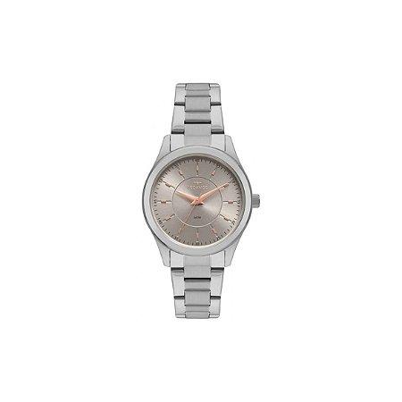 Relógio Technos Feminino Analógico Prata 2035MNU/1C