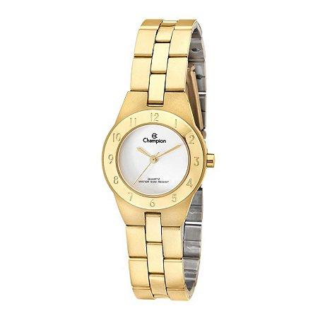 Relógio Champion Feminino Analógico Dourado CH24017W