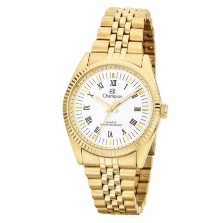 Relógio Champion Feminino Analógico Dourado CH24777W