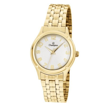 Relógio Champion Feminino Analógico Dourado CH24893W