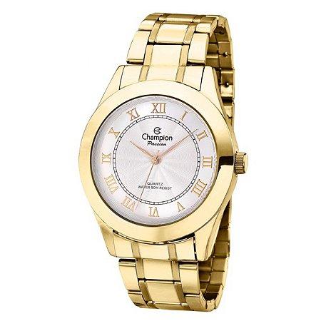 Relógio Champion Feminino Analógico Dourado CH24544W