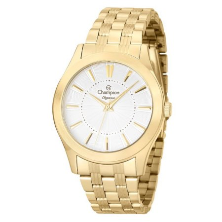 Relógio Champion Feminino Analógico Dourado CN25378W