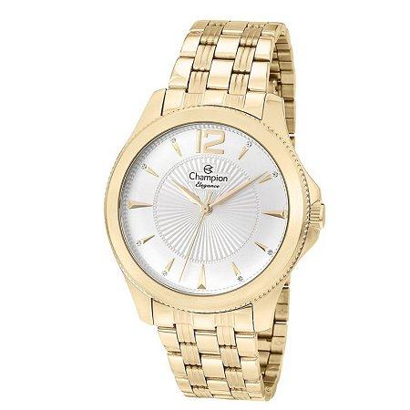 3e26f47d9b9 Relógio Champion Feminino Analógico Dourado CN25672W - Estrela Joias ...