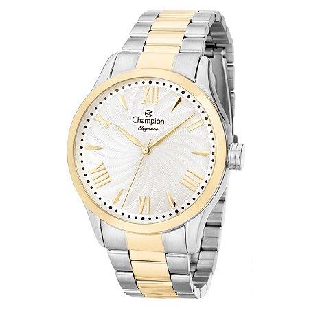 Relógio Champion Feminino Analógico Bicolor CN27796D