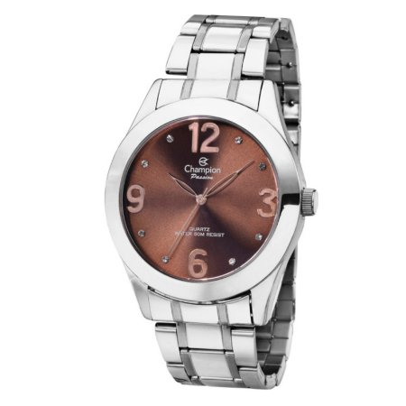Relógio Champion Feminino Analógico Prata CH24268M