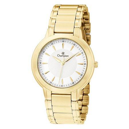 Relógio Champion Feminino Analógico Dourado CN20391W