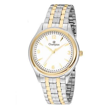 Relógio Champion Feminino Analógico Dourado CN20462D