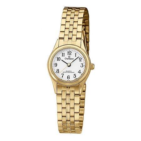 Relógio Champion Feminino Analógico Dourado CH27069W