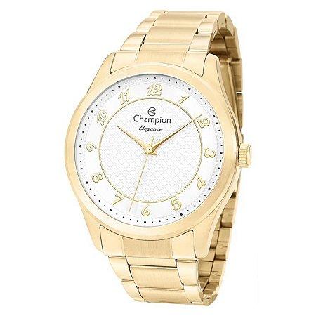 Relógio Champion Feminino Analógico Dourado CN27723H