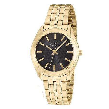Relógio Champion Feminino Analógico Dourado CN20417U