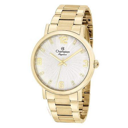 Relógio Champion Feminino Analógico Dourado CN25636H