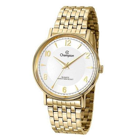 Relógio Champion Feminino Analógico Dourado CN29481H