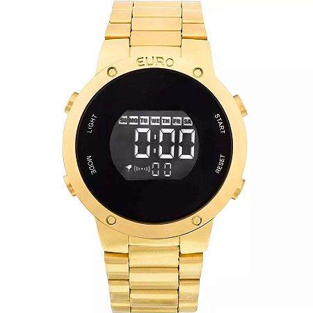 Relógio Euro Feminino DIgital Dourado EUBJ3279AA/4D