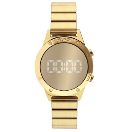 95308806b16 Relógio Euro Feminino DIgital Dourado EUJHS31BAB 4D - Estrela Joias ...
