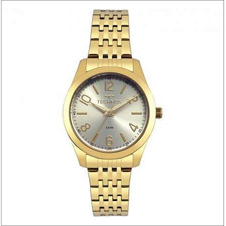 Relógio Technos Feminino Analógico Dourado 2035MPD/4X