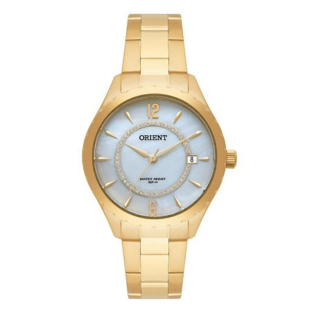 Relógio Orient Masculino Analógico Dourado FGSS1152B2KX