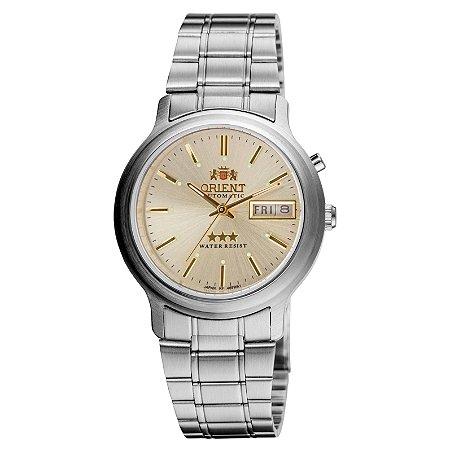 Relógio Orient Feminino Automático Prata 469WA1AC1SX
