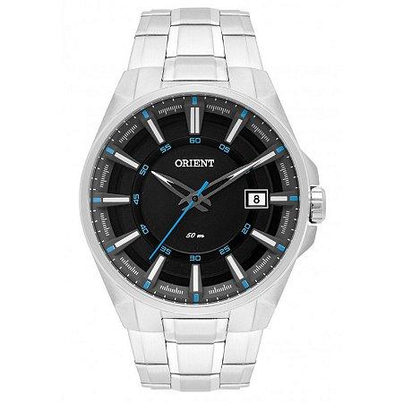 relógio Orient Masculino Analógico Prata MBSS1313PASX
