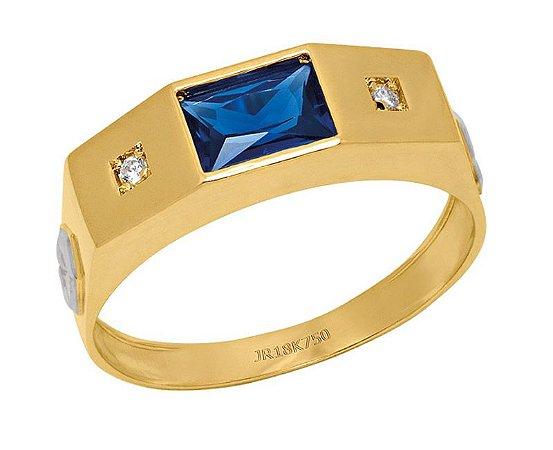 Anel de Formatura em Ouro 18K750 Ref. ANF110