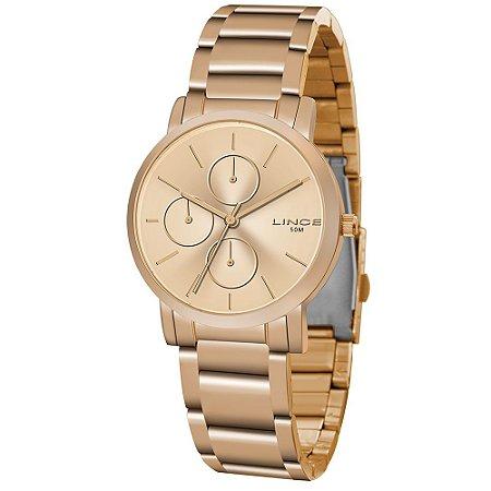 Relógio Lince Feminino Analógico Rose LMR4568L