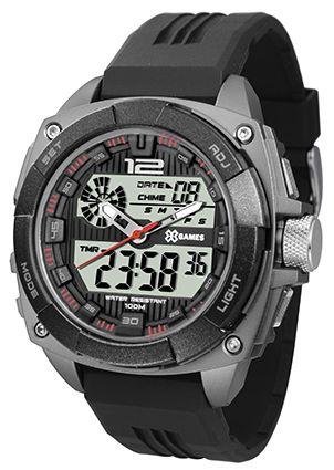Relógio X-Games Masculino Digital Cinza XMPPA261BXPX