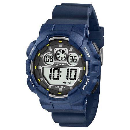 Relógio X-Games Masculino Digital Azul XMPPD344BXDX