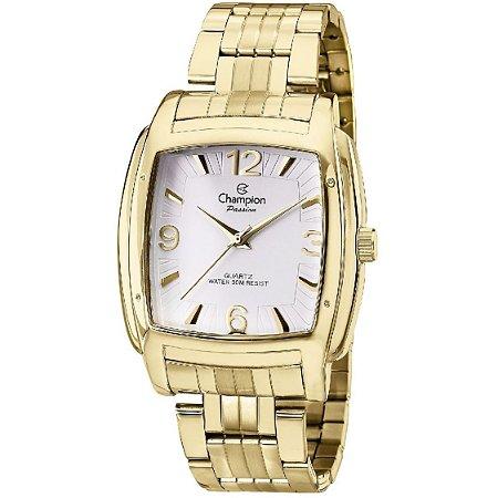 Relógio Champion Analógico Feminino Dourado  CN28731H