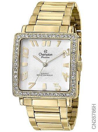 Relógio Champion Analógico Feminino Dourado CN28786H