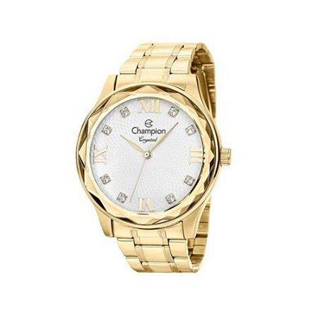 Relógio Champion Feminino Analógico Dourado CN27465W
