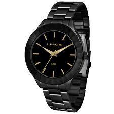Relógio Lince Feminino Analógico Preto LRN4592L
