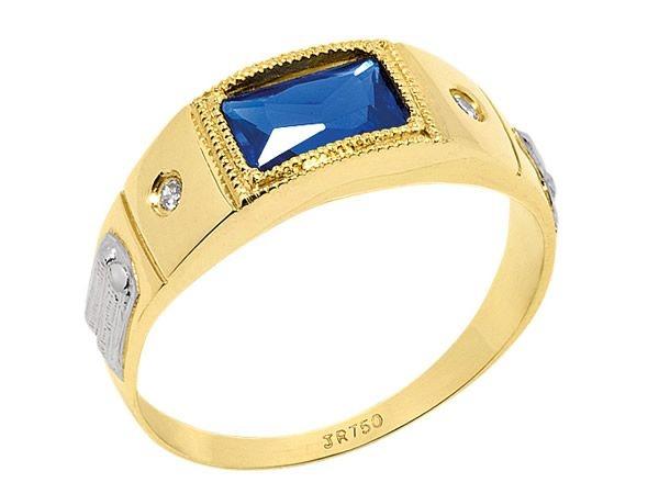 Anel de Formatura em Ouro 18K750 Ref. ANF182