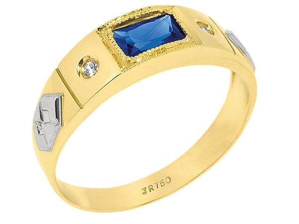 Anel de Formatura em Ouro 18K750 Ref. ANF183