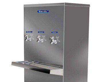 Bebedouro Industrial Piso Max Gel 100 Litros 3 torneiras