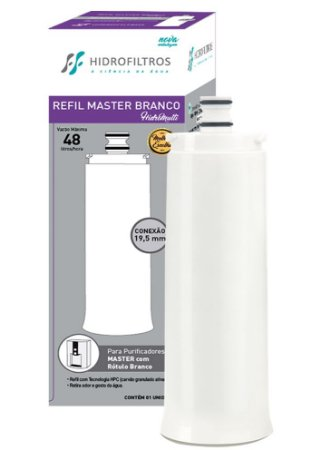 Filtro Refil Master Frio Rotulo Branco