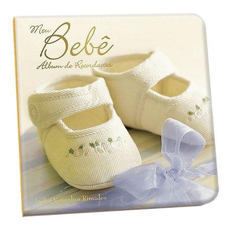 Álbum De Recordações Meu Bebê e Diário do Bebê Amarelo Unisex