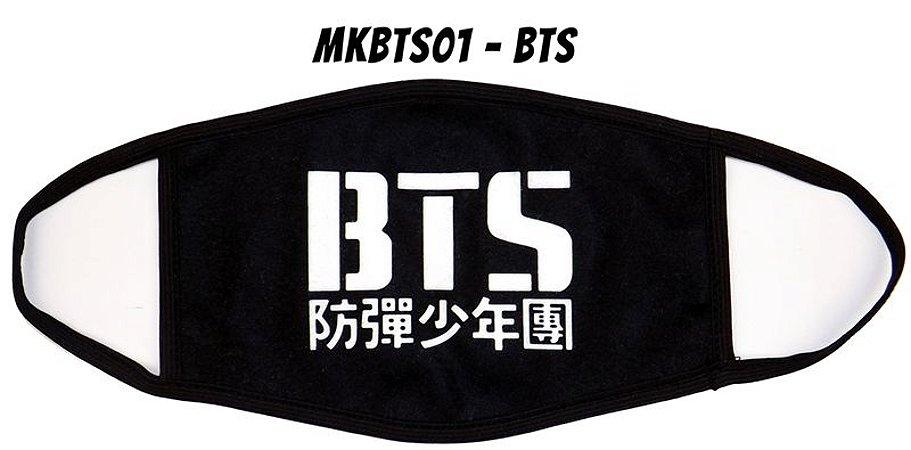 Máscara K-pop BTS 01 - FRETE GRÁTIS
