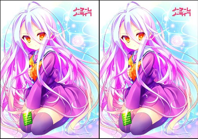 Capa de Travesseiro No Game No Life - Shiro