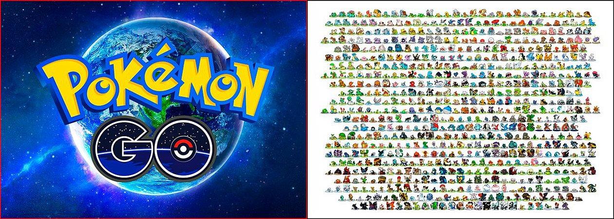 Capa de Travesseiro Pokemon Go Team Pokemons