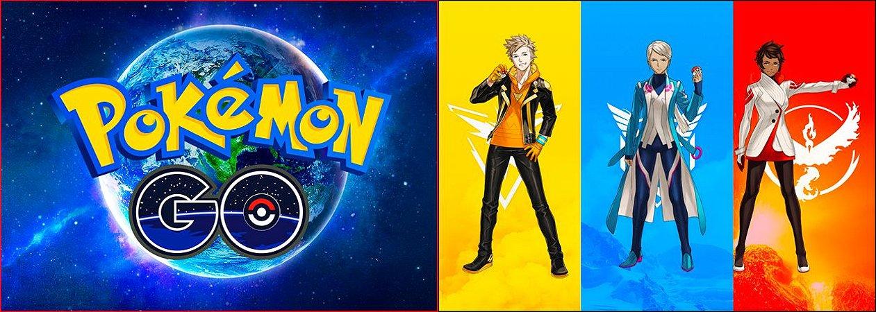 Capa de Travesseiro Pokemon Go Team