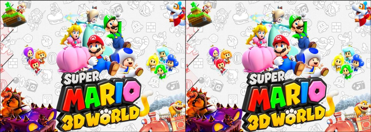 Capa de Travesseiro Super Mario Bros 3D