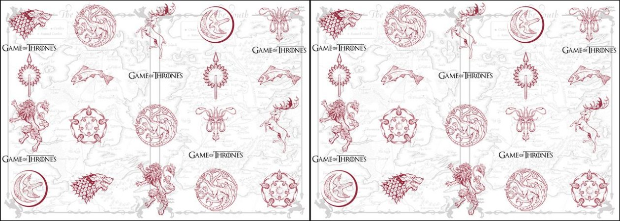 Capa de Travesseiro Game of Thrones Mapa