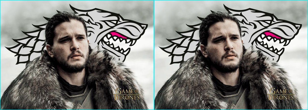 Capa de Travesseiro Game of Thrones Jon Snow