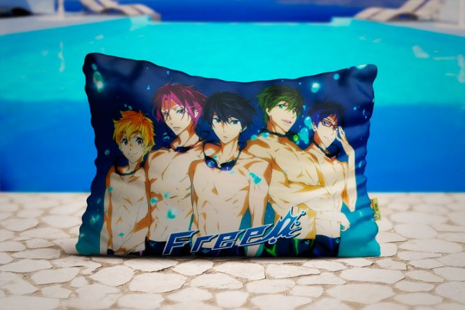 Travesseiro Free! Personagens