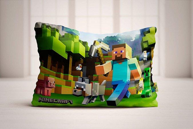 Travesseiro Minecraft
