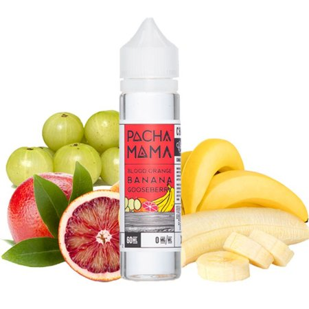 E-Liquido PACHA MAMA Blood Orange Banana Gooseberry 60ML