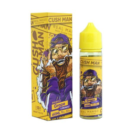 E-Liquido NASTY JUICE CUSH MAN SERIES Mango Grape 60ML