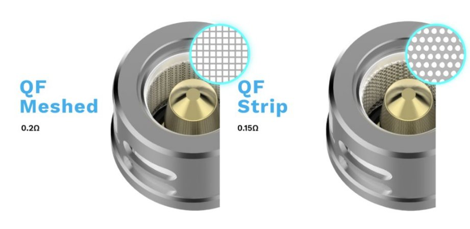 Bobina Coil QF Strip / QF Meshed p/ SKRR - LUXE