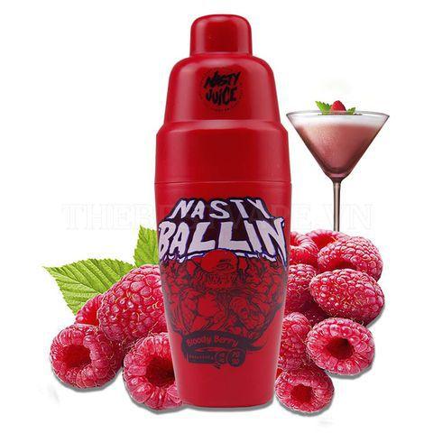 E-Liquido NASTY JUICE BALLIN SERIES Bloody Berry 60ML