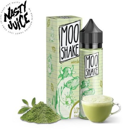 E-Liquido MOO SHAKE por NASTY JUICE Matcha 60ML