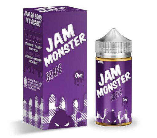 E-Liquido JAM MONSTER Grape 100ML